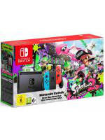Konzole Nintendo Switch - Neon Red/Neon Blue + Splatoon 2