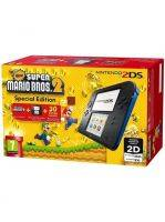 Konzole Nintendo 2DS Black & Blue + New Super Mario Bros. 2