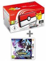Konzole New Nintendo 2DS XL Poké Ball Edition + Pokémon Ultra Moon