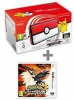 Konzole New Nintendo 2DS XL Poké Ball Edition + Pokémon Ultra Sun