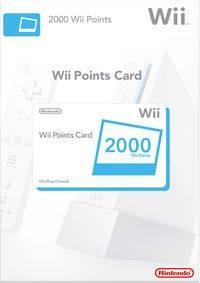 Wii Points Card 2000 (WII)