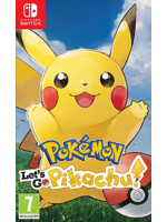 Pokémon: Lets Go, Pikachu! (SWITCH)