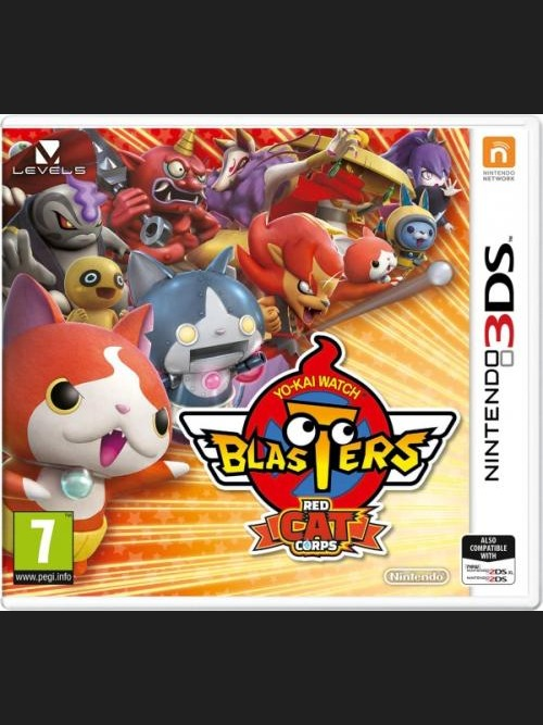 Yo-Kai Watch Blasters Red Cat Corps (3DS)