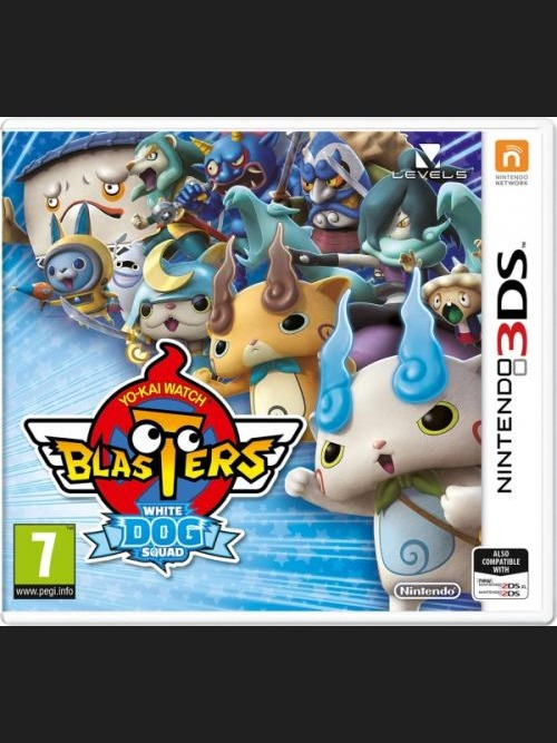 Yo-Kai Watch Blasters White Dog Squad (3DS)