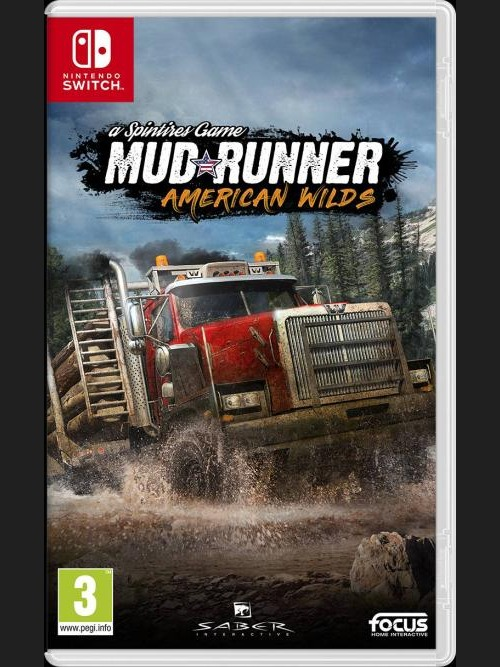 Spintires: MudRunner - American Wilds Edition (SWITCH)