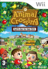 Animal Crossing: Lets go to the City (WII)