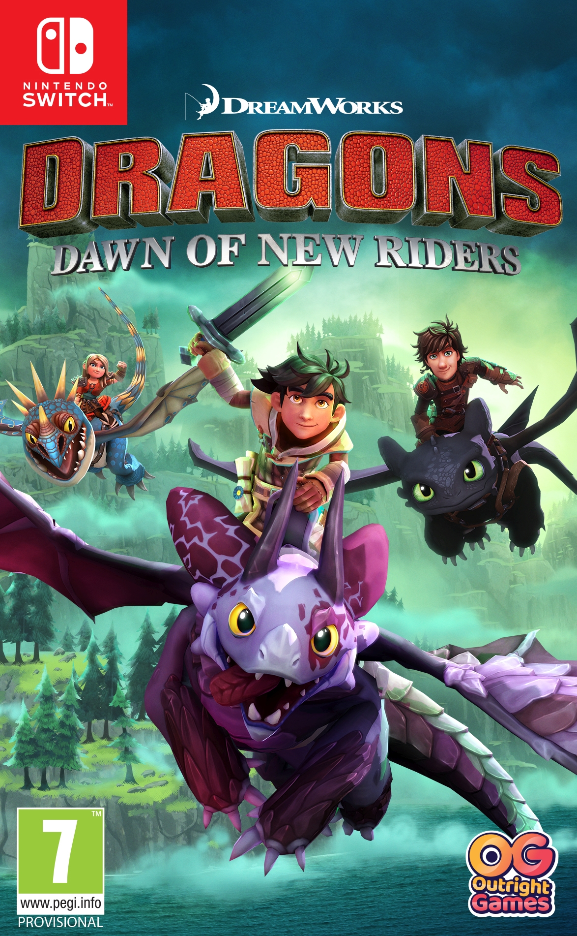 Dragons Dawn of New Riders (SWITCH)