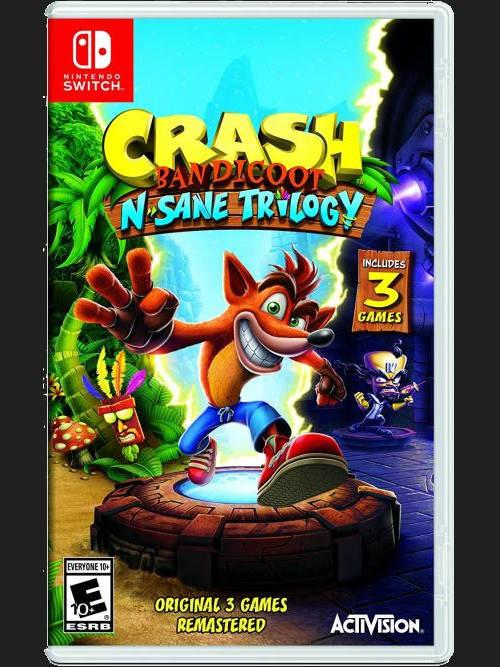 Crash Bandicoot N.Sane Trilogy BAZAR (SWITCH)