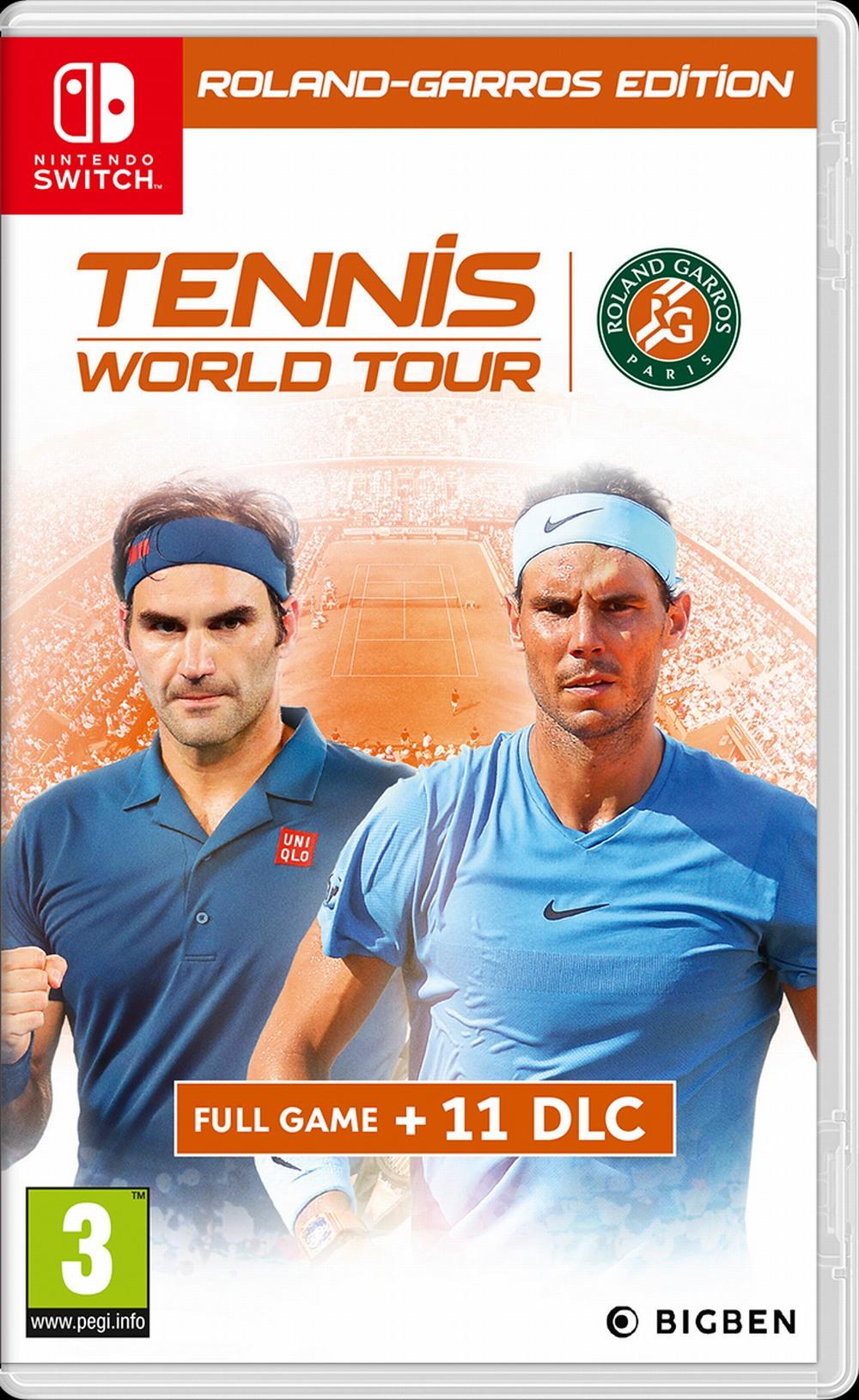 Tennis World Tour - Roland-Garros Edition (SWITCH)
