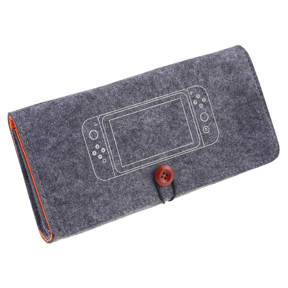 Ochranné pouzdro textilní Nintendo Switch - tmavě šedé (SWITCH)