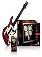 Guitar Hero 5 + kytara (WII)