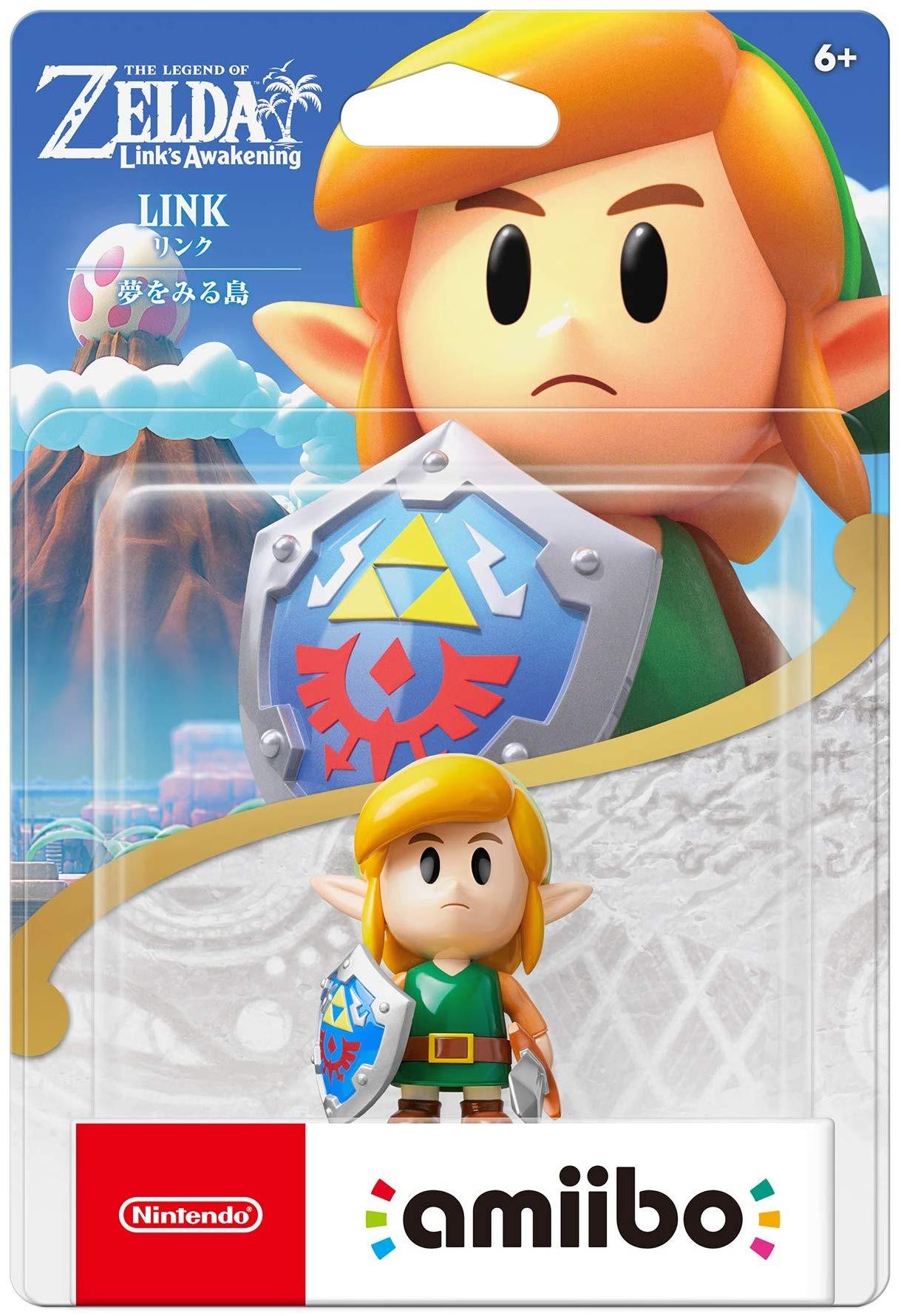 Figurka Amiibo Zelda - Link (Links Awakening) (WII)
