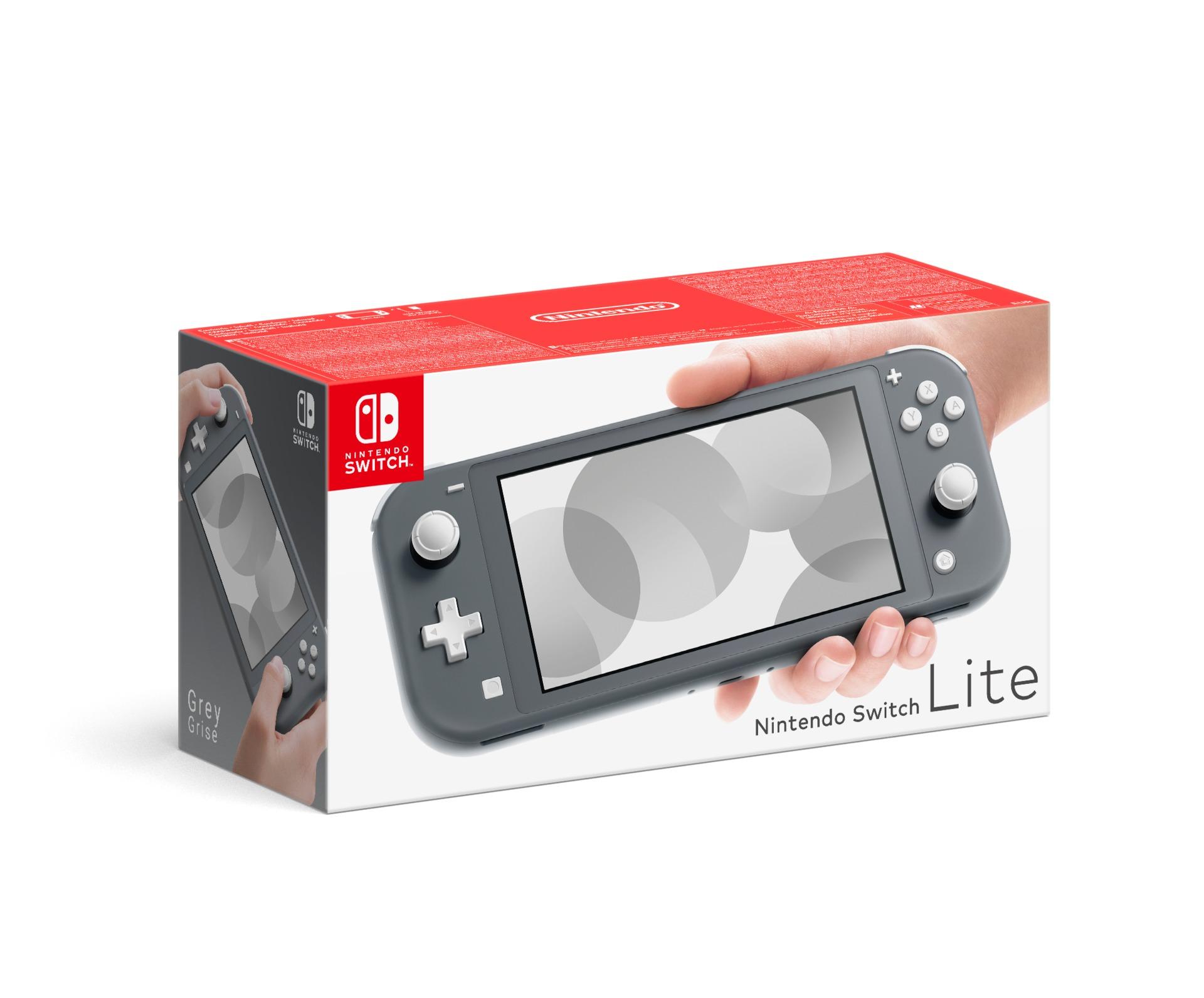 Konzole Nintendo Switch Lite - Grey (SWITCH)
