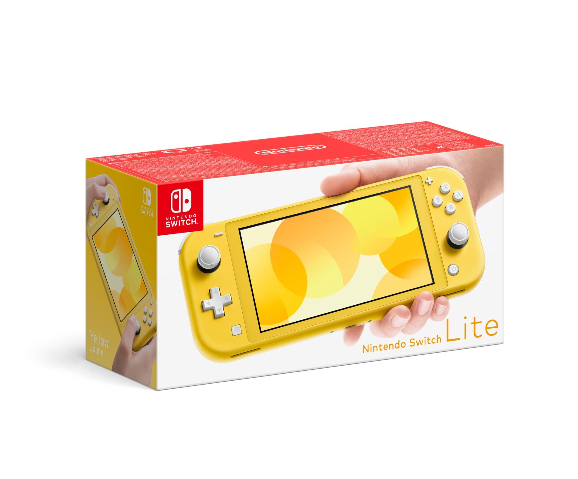 Konzole Nintendo Switch Lite - Yellow (SWITCH)