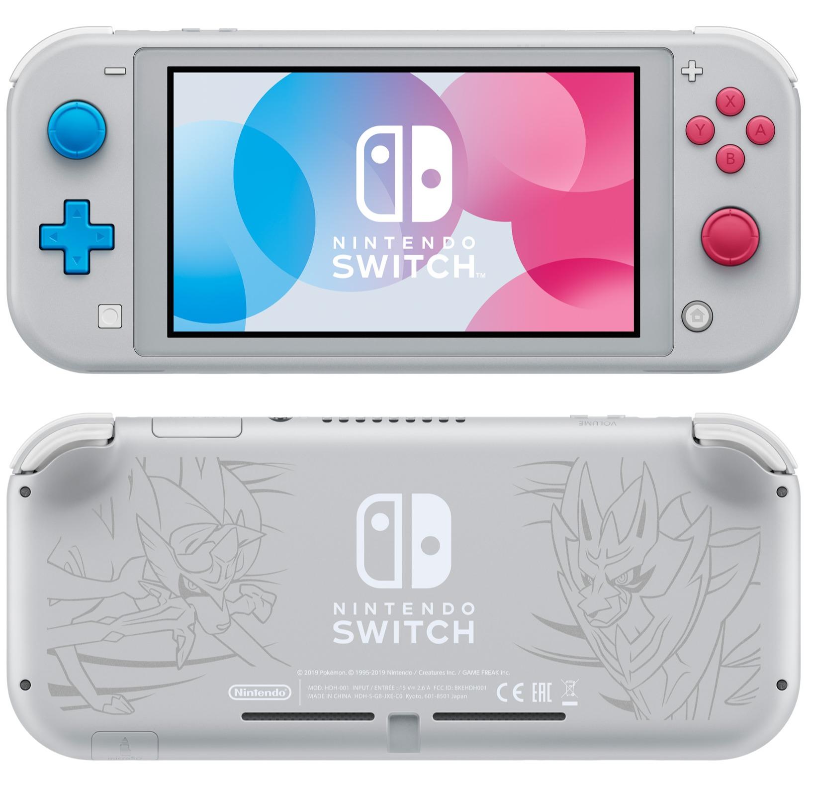 Konzole Nintendo Switch Lite - Zacian & Zamazenta Limited Edition (SWITCH)