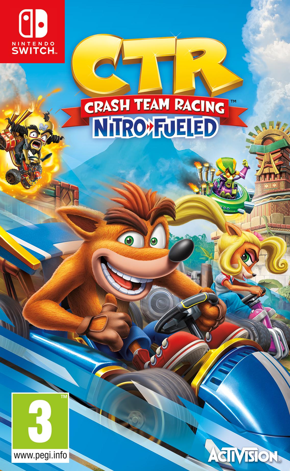Crash Team Racing: Nitro Fueled BAZAR (SWITCH)