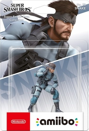 Figurka Amiibo Smash - Snake 75 (SWITCH)
