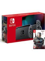 Konzole Nintendo Switch (2019) + Zaklínač 3: Kompletní edice (SWITCH)