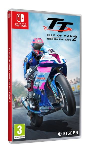 TT Isle of Man Ride on the Edge 2 (SWITCH)