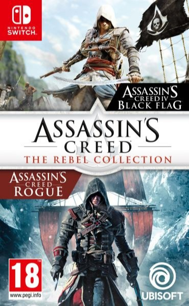 Assassins Creed: Rebel Collection BAZAR (SWITCH)