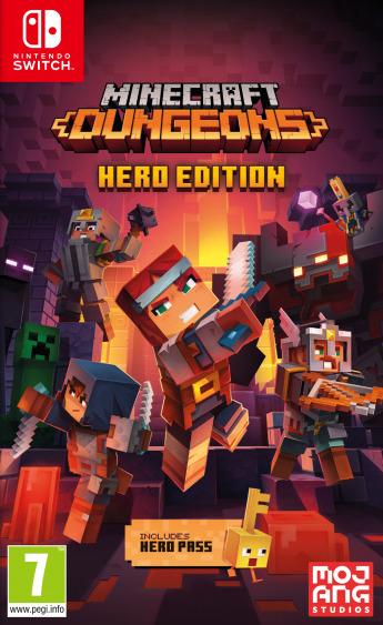 Minecraft Dungeons - Hero Edition (SWITCH)