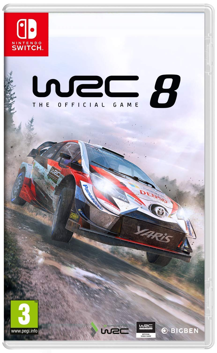 WRC 8 BAZAR (SWITCH)