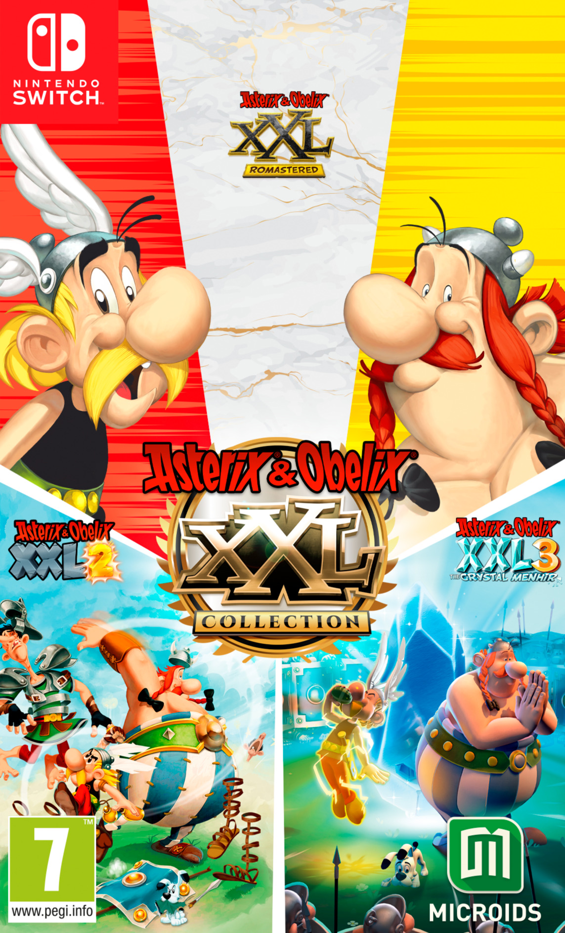 Asterix & Obelix XXL Collection (SWITCH)