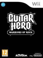 Guitar Hero: Warriors of Rock + kytara a bubny (WII)
