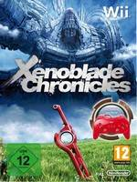 Xenoblade Chronicles + Remote Pro Red (WII)