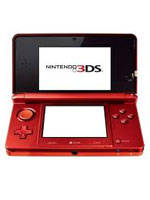 Nintendo 3DS Metallic Red 3DS (WII)
