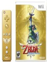 The Legend of Zelda: Skyward Sword + Wii Remote Gold (WII)