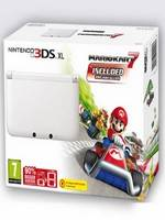 Nintendo 3DS XL White + Mario Kart 7 3DS (WII)