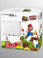 Nintendo 3DS XL White + Super Mario 3D Land (WII)