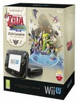 Wii U Premium Pack Black + Legend of Zelda Wind Waker HD (WIIU)