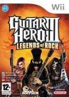 Guitar Hero III: Legends of Rock + kytara (WII)
