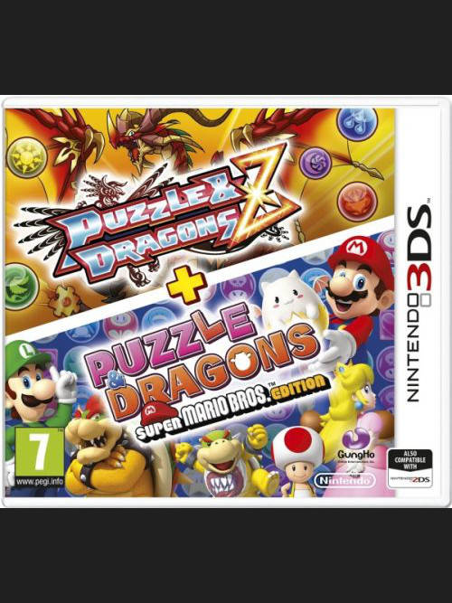 3DS Puzzle & Dragons Z + Puzzle & Dragons SMB Edition (3DS)