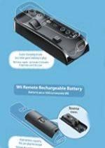 Wii U dálkový ovladač - Set pro rychlejší nabíjení (WIIU)