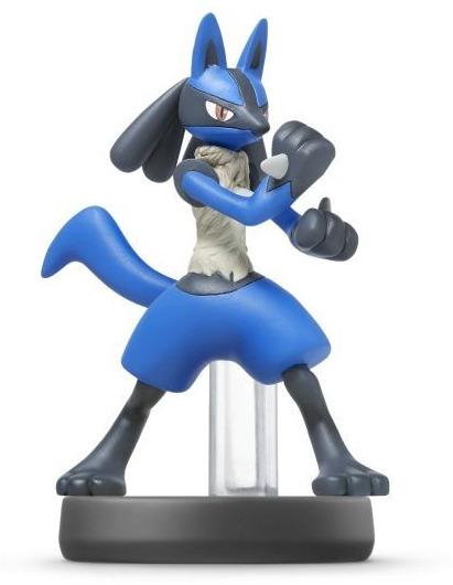Figurka amiibo - Lucario (Super Smash Bros.)
