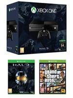 Konzole XBOX ONE + Grand Theft Auto V + Halo Collection (XONE)