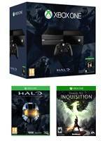 Konzole XBOX ONE + Dragon Age 3: Inquisition + Halo Collection