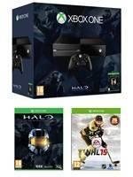 Konzole XBOX ONE + NHL 15 + Halo Collection (XONE)