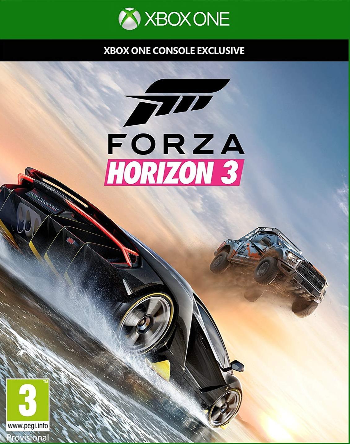 Forza Horizon 3 (XONE)