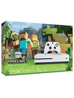 Konzole Xbox One S 500GB + Minecraft: Xbox One Edition (XONE)