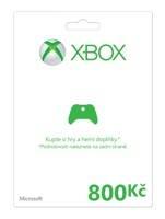 Xbox Live předplacená karta 800 Kč (XBOX 360)