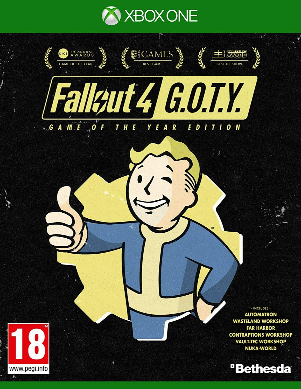 Fallout 4: Game of the Year (XONE)