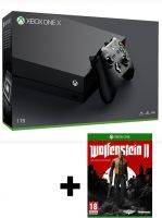 Konzole Xbox One X 1TB + Wolfenstein II: The New Colossus