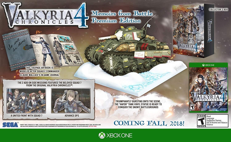 Valkyria Chronicles 4 - Memoirs from Battle Premium Edition (XONE)