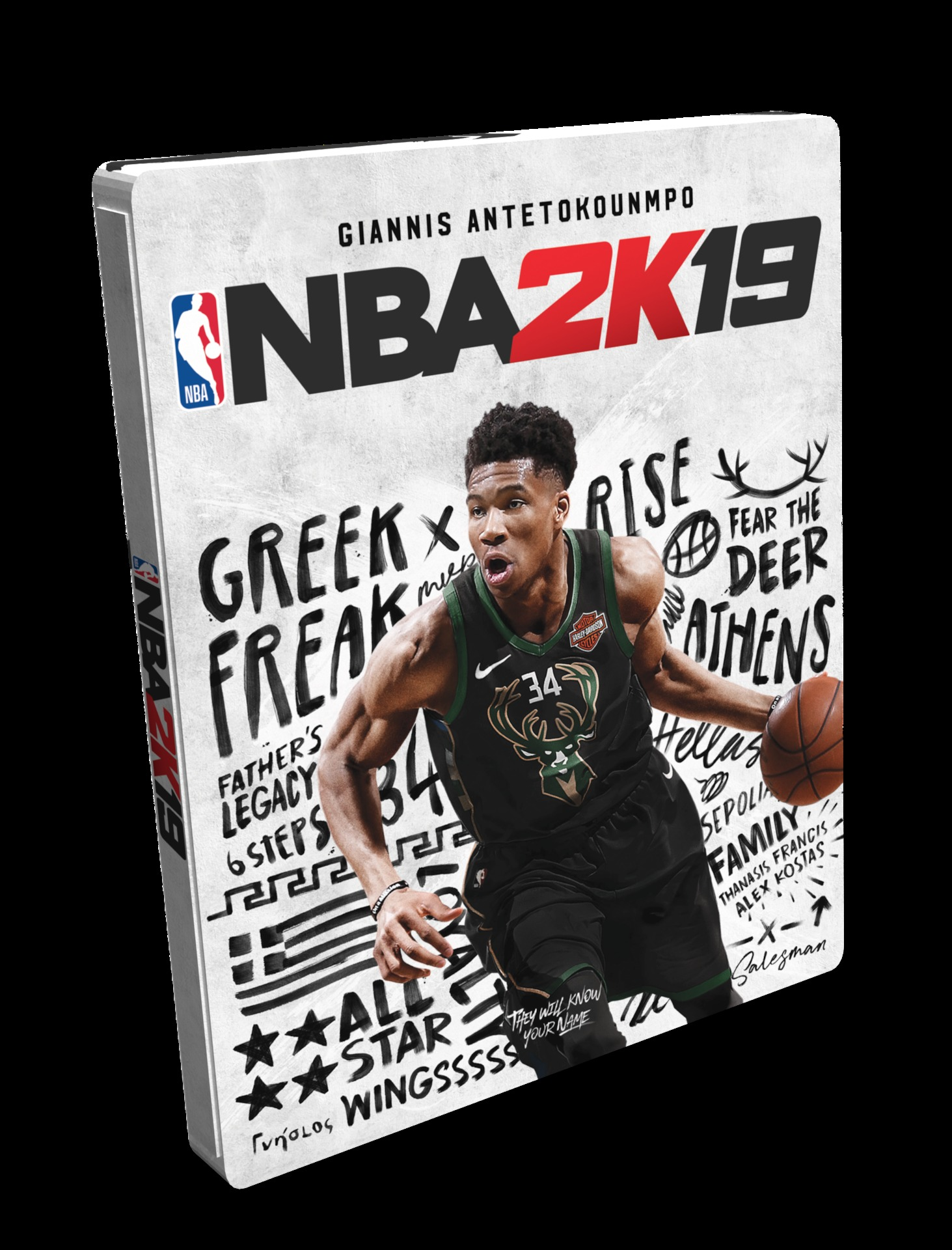 NBA 2K19 - Steelbook Edition (XONE)