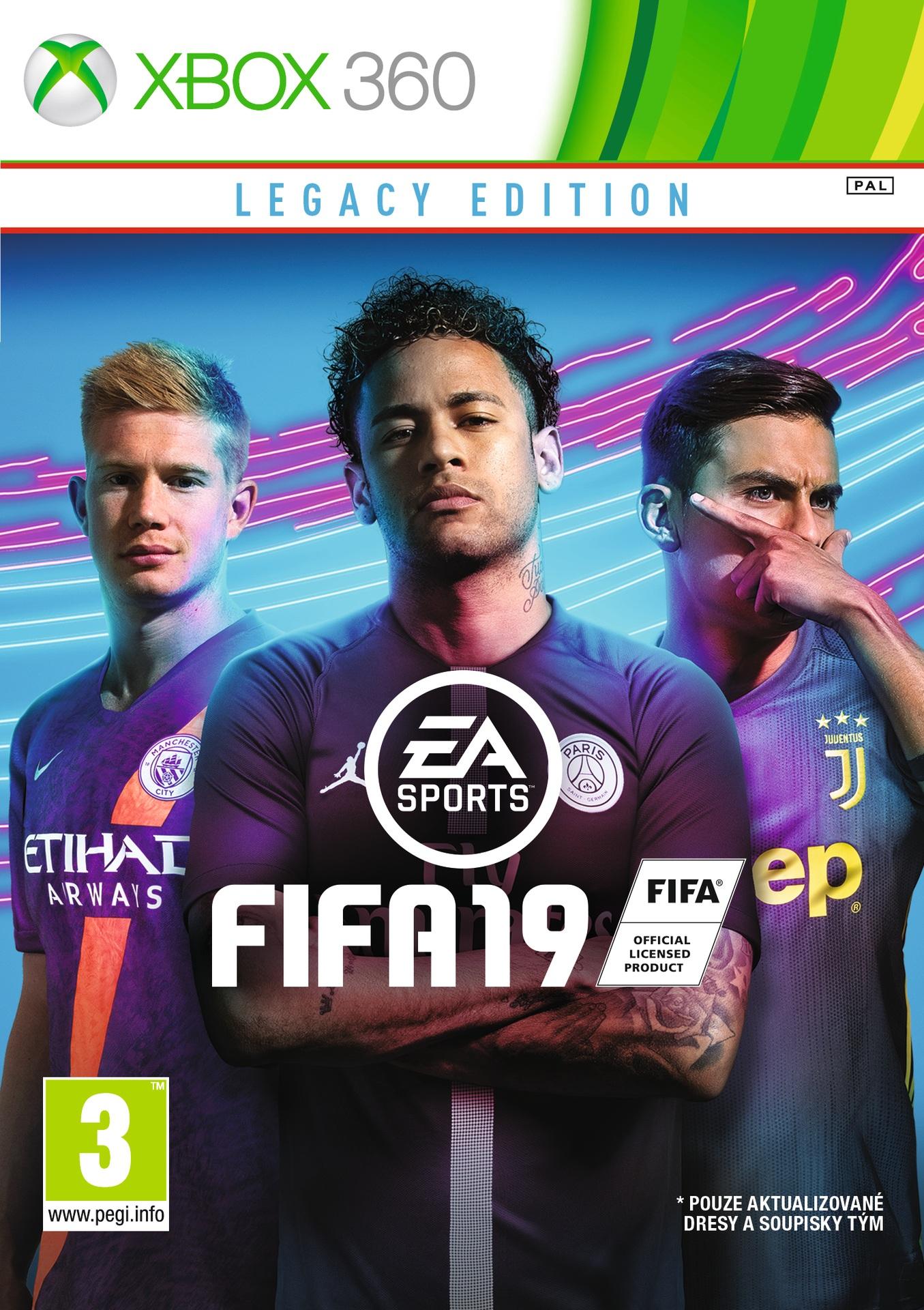 FIFA 19 - Legacy Edition (X360) - Xzone.cz