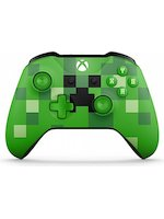 Xbox One ovladač - Minecraft Creeper